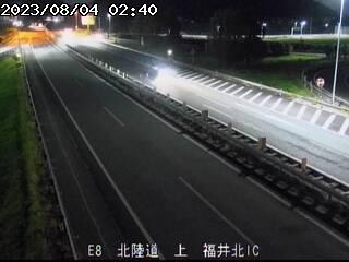 福井北IC 上り
